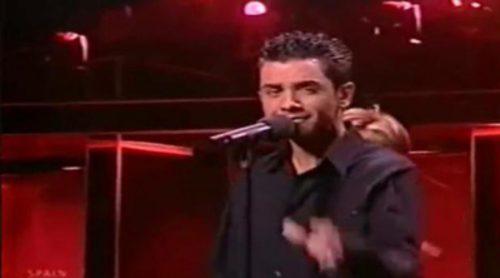 """David Civera con """"Dile que la quiero"""", representante de España en Eurovisión 2001"""