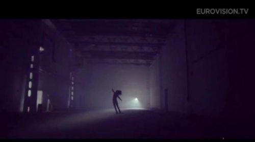 "Kállay-Saunders con ""Running"", representante de Hungría en Eurovisión 2014"