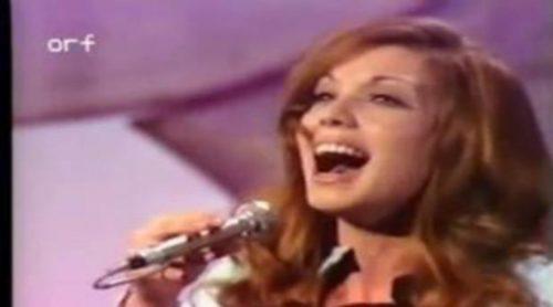 """Karina con """"En un mundo nuevo"""", representante de España en Eurovisión 1971"""