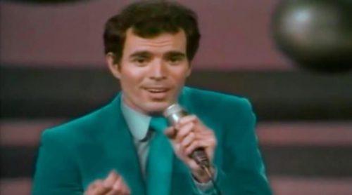 """Julio Iglesias con """"Gwendolyne"""", representante de España en Eurovisión 1970"""