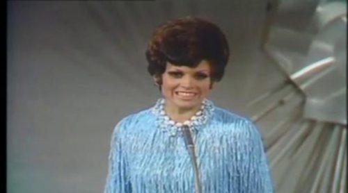 """Salomé con """"Vivo cantando"""", representante de España en Eurovisión 1969"""