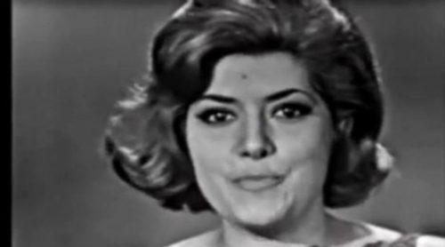 "Conchita Bautista con ""Qué bueno, qué bueno"", representante de España en Eurovisión 1965"