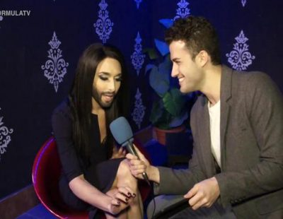Conchita Wurst valora el estilismo de los representantes de España a lo largo de estos años en el Festival de Eurovisión