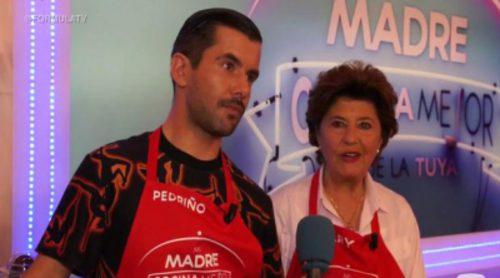 """Pedriño ('Mi madre cocina mejor que la tuya'): """"Si hubiera sabido que tenía que cocinar yo quizá no hubiese llamado"""""""