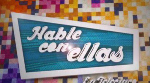 Cabecera de 'Hable con ellas en Telecinco'