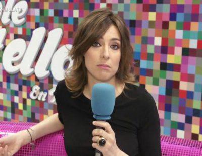 """Sandra Barneda ('Hable con ellas en Telecinco'): """"El 'relaxing cup' de Ana Botella ha hecho mucho bien a las terrazas de la Plaza Mayor de Madrid"""""""