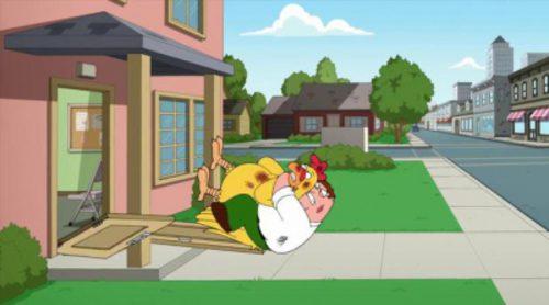 """Peter Griffin destruye la ciudad en el juego """"Family Guy: En búsqueda de cosas"""""""