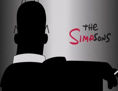 'Los Simpson' parodian el estilo misterioso de 'Mad Men' en una promo