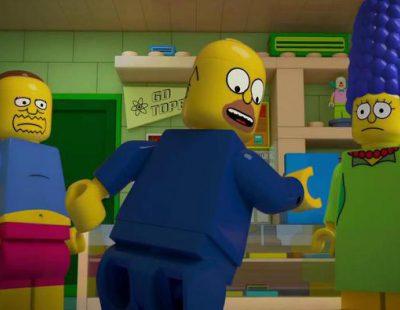 """'Los Simpson' ya están """"legolizados"""" en la promo del episodio especial Lego"""