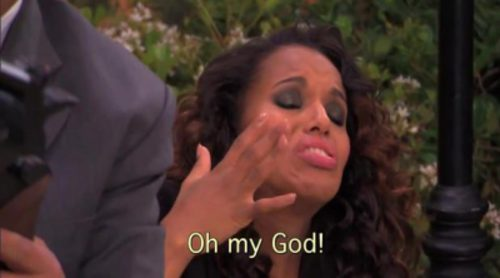 Kerry Washington en la season finale de 'Escándalo'