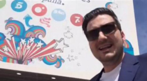 Xavi Rodríguez, aplastado por un meteorito a su llegada a Mediaset