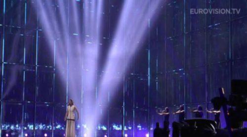 Primer ensayo de Ruth Lorenzo en Eurovisión 2014