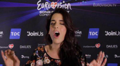 Ruth Lorenzo canta a capela un medley con canciones del 'Festival de Eurovisión'