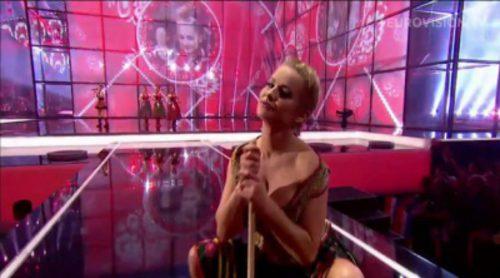 La actuación de las sexys polacas, Ola Ciupa y Paula Tumala, en Eurovisión 2014
