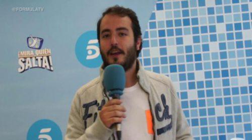 """Aarón Guerrero: """"El jurado de '¡Mira quién salta!' ha sido justo ya que ha votado lo que le ha dado la gana"""""""