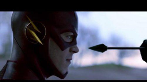 Arrow y The Flash juntos en una promo de The CW
