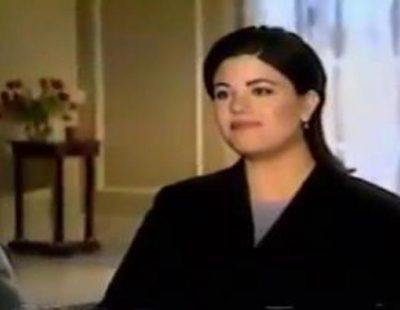 Barbara Walters entrevista a Monica Lewinsky en 1999