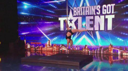 Emma Haslam, el pole dance más sexy que sorprende en 'Britain's Got Talent'