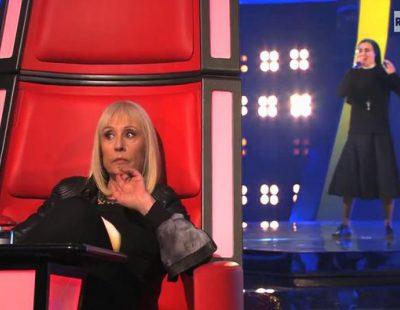"""""""Audición a ciegas"""" de la monja Sor Cristina en 'La voz Italia'"""