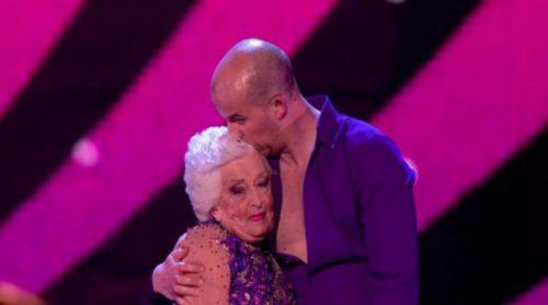 Paddy Jones, la octogenaria bailarina de 'Britain's Got Talent' se cuela en la final tras sufrir una lesión
