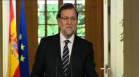 Rajoy anuncia la abdicación del Rey Juan Carlos I de España
