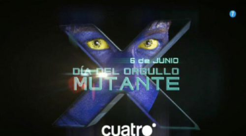 Cuatro celebra este viernes el Día del Orgullo Mutante