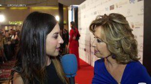 Premios Iris 2014: María Teresa Campos, José Manuel Parada, Roberto Leal y Albert Castillón en la alfombra roja (Parte 4)