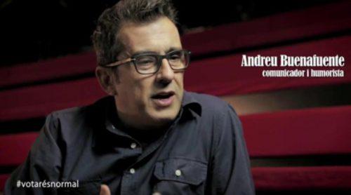 Rostros televisivos como Buenafuente, Àngel Llàcer y Berto Romero apoyan la consulta catalana en un documental
