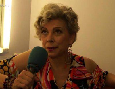 """Kiti Mánver: """"Charo, mi personaje en 'Vive cantando', es como Trini, de cabeza hueca pero muy vital y generosa"""""""