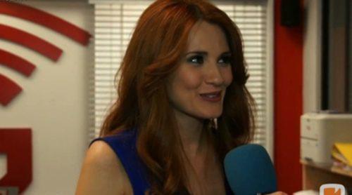 """Elena Ballesteros: """"Rebeca, mi personaje en 'Ciega a citas', es una mujer muy fría que guarda mucho rencor a Carlos"""""""