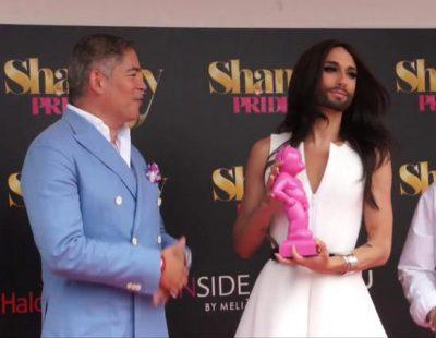 """Conchita Wurst: """"Cantar en el Orgullo Gay es como cantar para mi familia"""""""