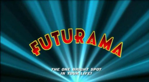 Cabecera de la serie de animación 'Futurama'