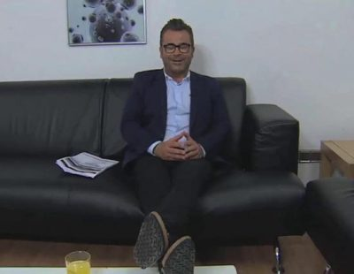 Jorge Javier Vázquez se queda dormido para promover la conducción responsable