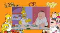 Primer avance del crossover entre 'Los Simpson' y 'Padre de familia'