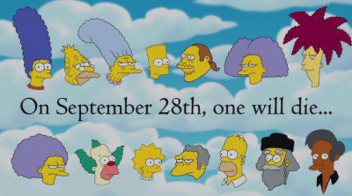 ¿Quién muere en 'Los Simpson'? Primera promo