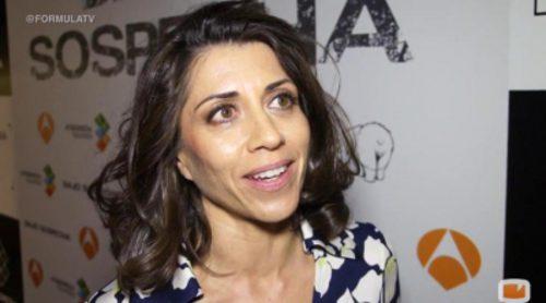 """Alicia Borrachero ('Bajo sospecha'): """"He visto material pero no me he inspirado en nadie, estoy haciendo algo más personal"""""""