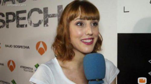 """Natalia De Molina: """"Leti es dulce en apariencia pero supongo que luego tendrá su cosa"""""""