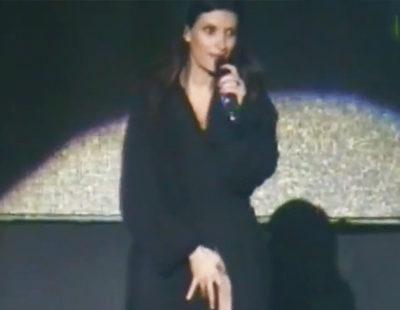 Laura Pausini lo enseña todo en un concierto en Perú