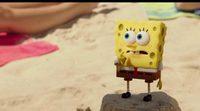 Bob Esponja sale del fondo del mar y se mete en el mundo real en el nuevo tráiler de su película