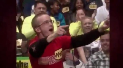 Aaron Paul en 'The Price is Right' ('El precio justo')