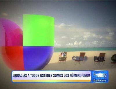 Univision fue la cadena más vista en julio en Estados Unidos