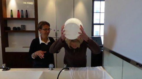 Martha Stewart cumple el reto del cubo de agua helada