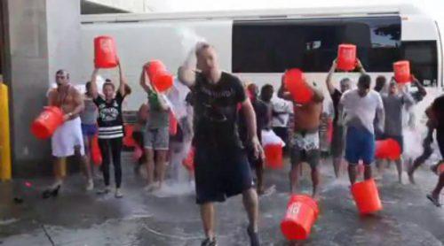 Justin Timberlake cumple el reto del cubo de agua helada