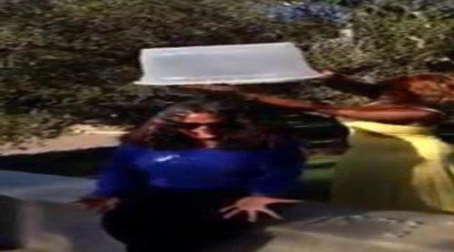 Oprah Winfrey cumple el reto del cubo de agua helada