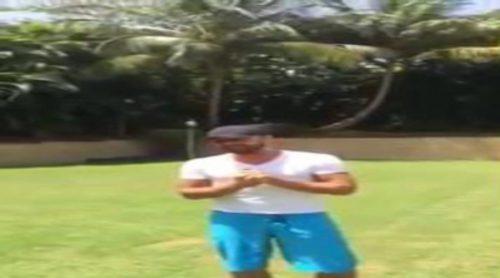 Ricky Martin cumple el reto del cubo de agua helada