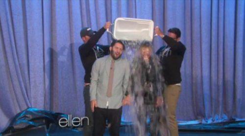 """Ellen DeGeneres realiza el """"ice bucket challenge"""""""