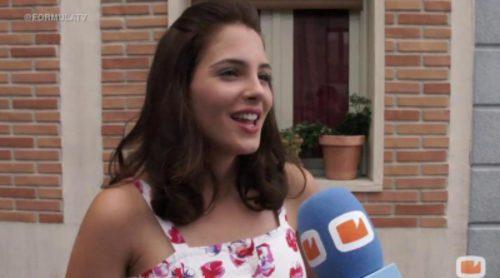 Andrea Duro: 'En 'Amar es para siempre' es como si fuera la bisabuela de Yoli ('Física o química')''