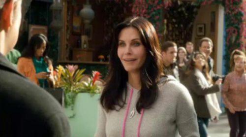 Courteney Cox y Matthew Perry se reencuentran en 'Cougar Town' tras 'Friends'
