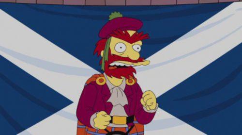 Willie el jardinero de 'Los Simpson', a favor de la independencia de Escocia