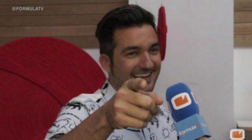 Xavi Rodríguez manda un saludo a los usuarios de FormulaTV.com